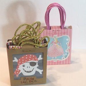 Party Bags/ princess and Pirate by Meri Meri